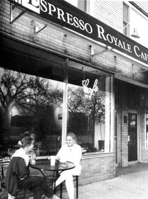 Espresso Royale Cafe in East Lansing, 1993.