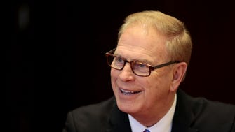 Democratic Senate candidate and former governor Ted Strickland.