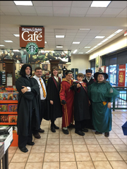 MuggleCon 2015 attendees gather in Barnes & Noble in