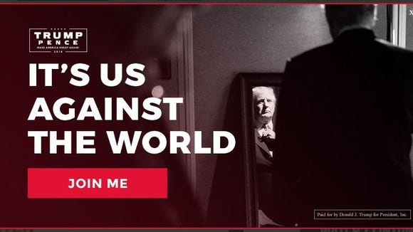 Trump's new ad out Sunday night ahead of the debate.