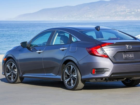 Honda Civic Sedan del 2016