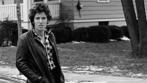 """The cover of """"Born to Run"""" by Bruce Springsteen."""