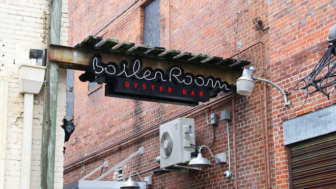 The Boiler Room Oyster Bar, located at 108 W. North St. in the alley, closed permanently in late May.