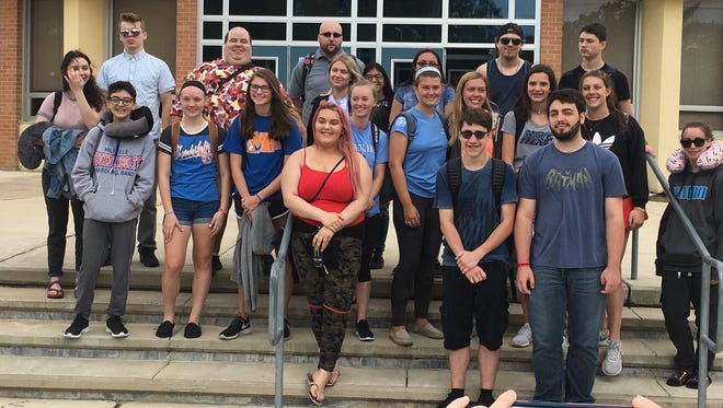 Members of Millville High School's German club traveled to Germany where they visited landmarks and also stayed with host families.