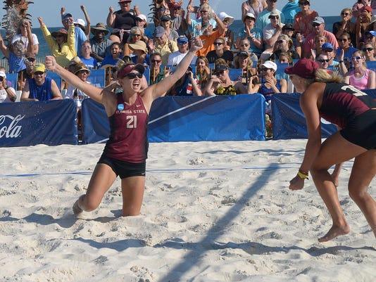 FSU beach volley