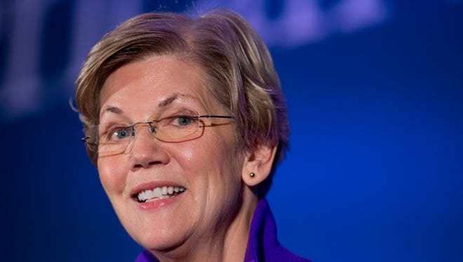 Sen. Elizabeth Warren, D-Mass., led the unsuccessful fight in the Senate to prevent Dodd-Frank Act opponents from diluting a provision involving derivatives trading.