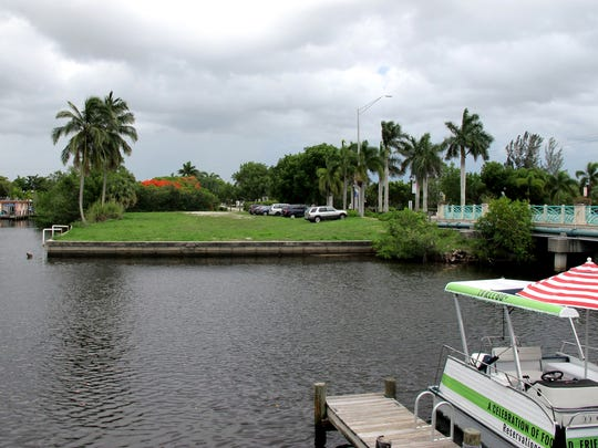 A food park is planned on the vacant lot across Haldeman Creek from the Three60 Market off Bayshore Drive in Naples.