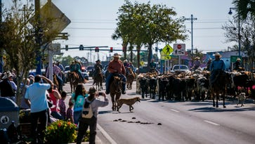 With cattle drive, cowboys and families celebrate ranching heritage of Immokalee area