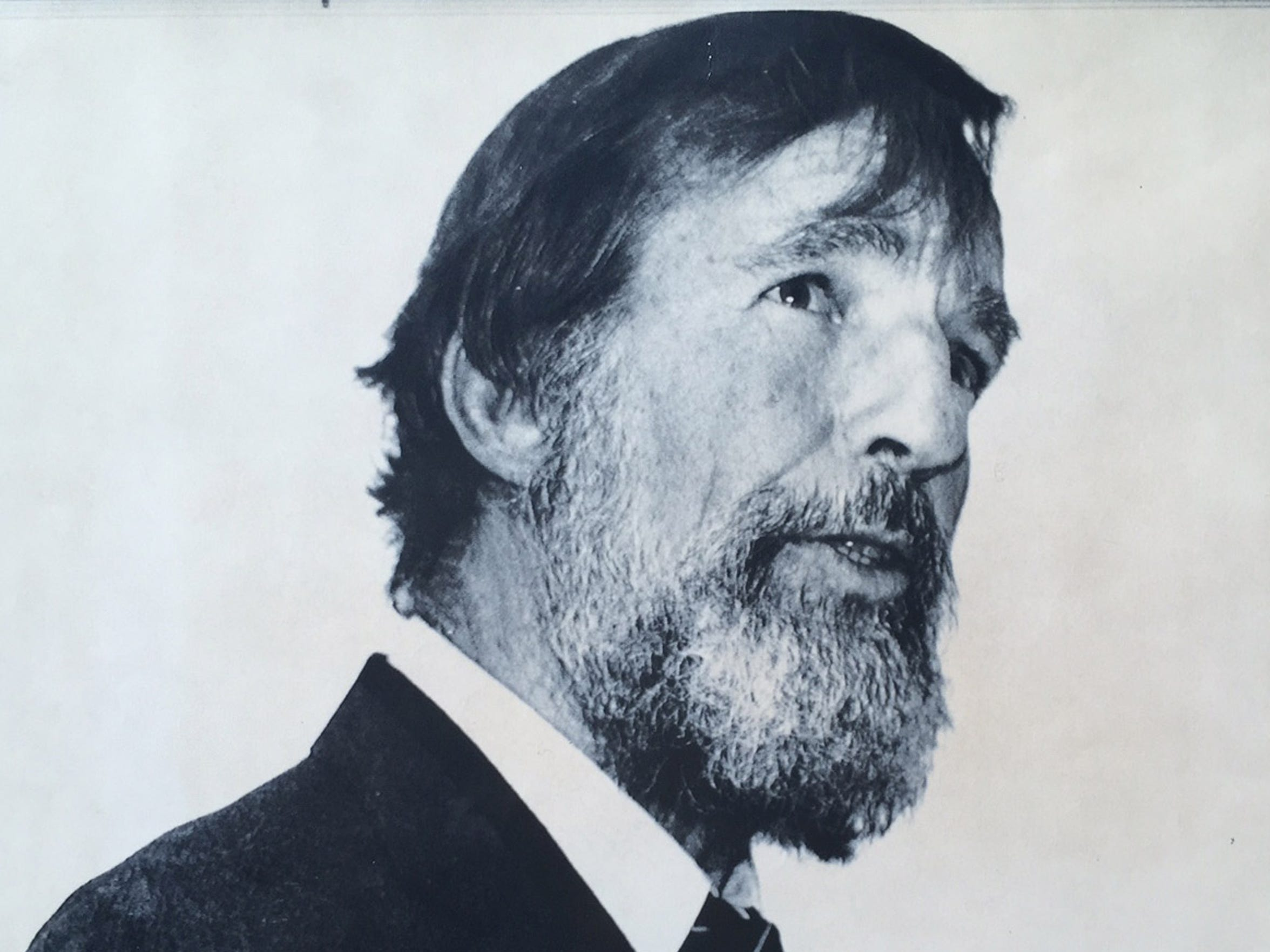 Famed writer and environmentalist Edward Abbey seen