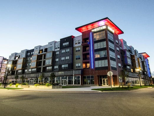 Modern $35M apartment complex proposed on Mill Pond in Brighton