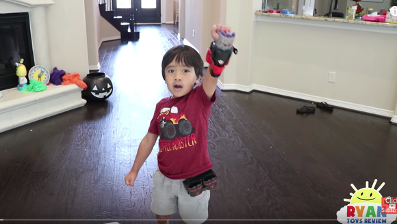 Ryan, the 5-year-old star of the Ryan ToysReview channel
