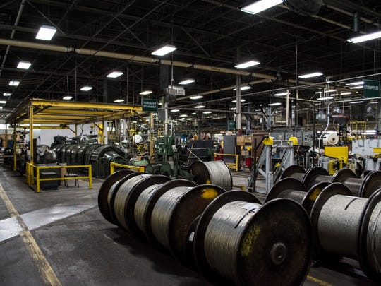 The Belden Wire & Cable manufacturing facility in Richmond is seen on Wednesday, May 23, 2018.