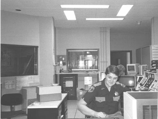 Rick Olig works in the Fond du Lac County dispatch
