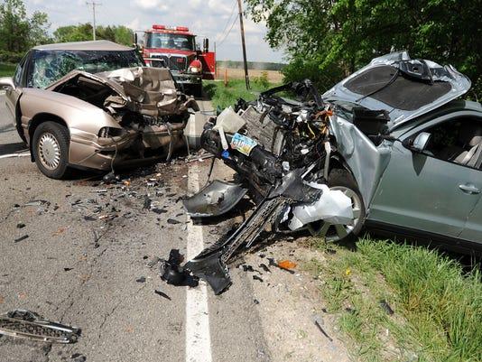 fatal  head-on crash