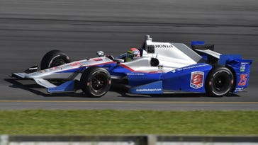 Justin Wilson was exposed to debris on the track Sunday in his open-cockpit IndyCar. While a canopy has been discussed, there has been pushback from some who fear that drivers could be trapped under an overturned car or in a burning car, and that their peripheral vision might be impeded.