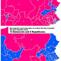 Congressional map rejected by Gov. Tom Wolf would have been favorable to GOP, experts say