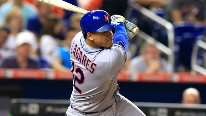 Terrry Collins opted for Juan Lagares in centerfield for Game 2.