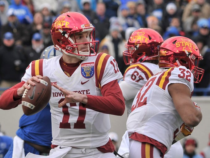 Iowa State (vs. Memphis in the Liberty Bowl, Dec. 30):