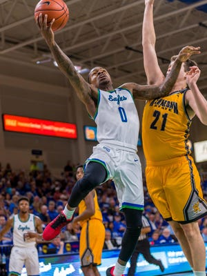 FGCU junior point guard Brandon Goodwin, who leads the Eagles with a 17.4-point average, has been making sure his teammates know they must finish strong.