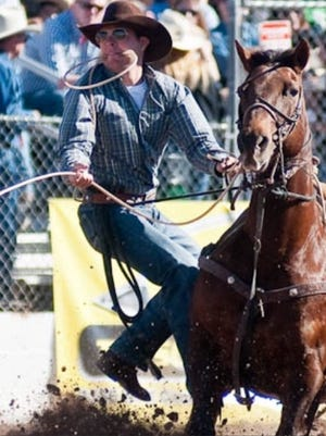 Athen's tie-down roper Randall Carlisle will compete this weekend in the LRCA finals at Hirsch Coliseum.