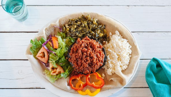 Hot food selections from Cafe Lalibela are now in Valley