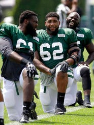 Devon Still (62) is hoping to make the Jets' roster after previous stops with the Cincinnati Bengals and Houston Texans.