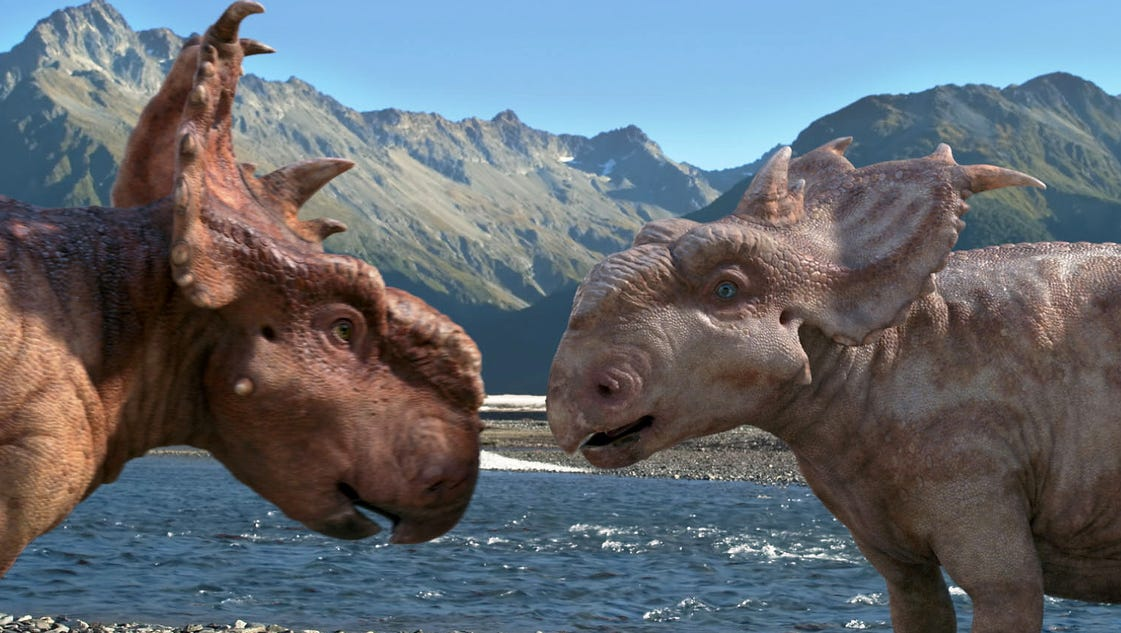 look walking with dinosaurs