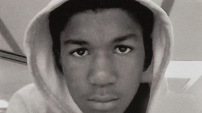 Trayvon Martin, an unarmed black Florida teenager shot to death. The suspect in the shooting, George Zimmerman, told police he shot Martin in self-defense while working as a neighborhood watch captain.