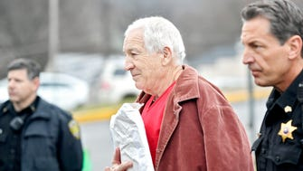 """A Penn State trustee is under fire after saying he was """"running out of sympathy"""" for Jerry Sandusky's abuse victims."""