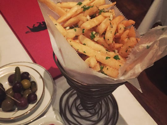Kate Durio says Pamplona's duck fat fries are one of