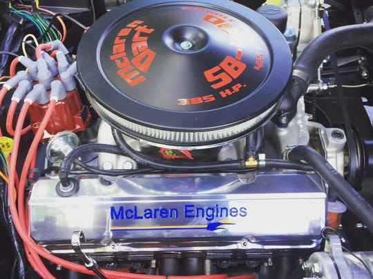 McLaren Performance Technologies rebuilt the 'Vette's engine