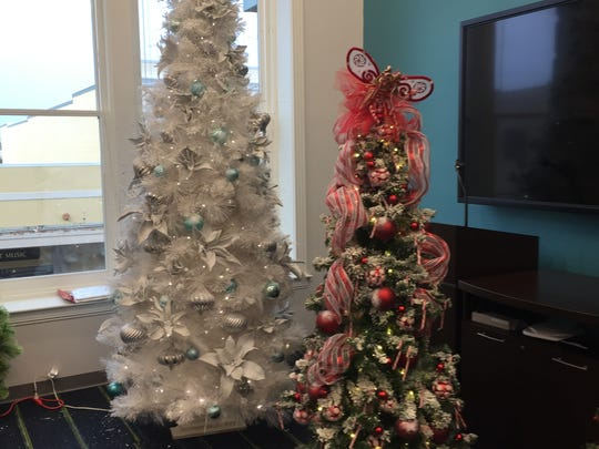 Parade of Trees is on display until Friday.