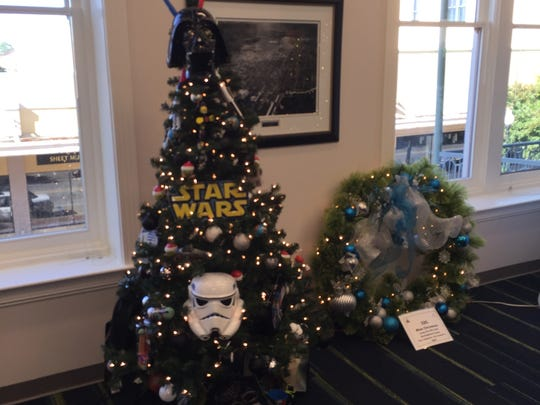 """The """"Star Wars"""" tree is on sale for $175 and features"""