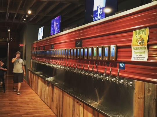 The Pour Taproom in downtown Greenville would resemble the pour-your-own tap system in the taproom's charter West Asheville location.