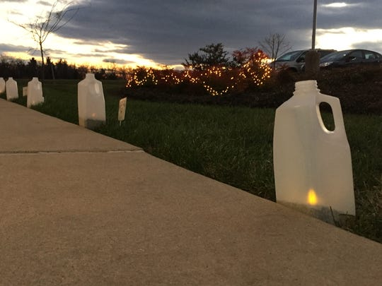 The York County SPCA held a luminary festival on Saturday to honor pets.