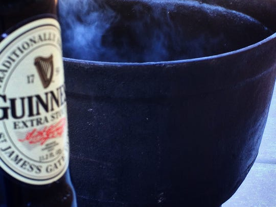A Guinness cookoff is one of the many events during