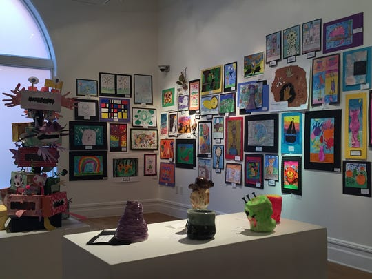 Staunton Augusta Art Center celebrates Youth Art Month in March featuring work from art students in kindergarten through twelfth grade. Programs offered at SAAC benefit from grant funding from the Virginia Commission for the Arts.