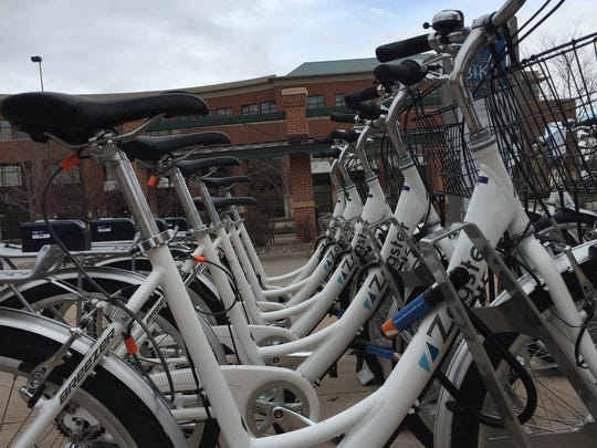 Fort Collins launches its bike-share program on Friday, April 1. The program opens with 13 stations providing 79 bikes.