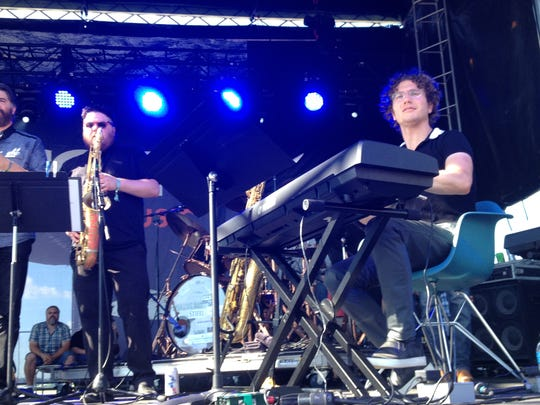 Teddy Abrams & Friends delivered one of Saturday's best sets at the Forecastle Festival.