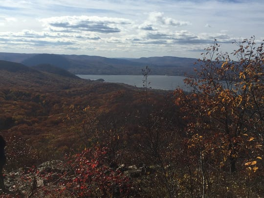The view from the top of Mt. Beacon.