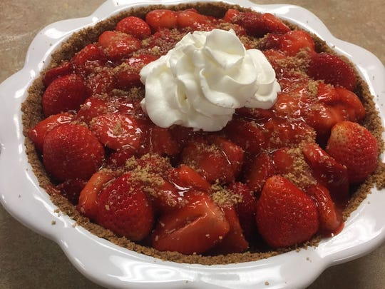 This pie is worth a try when it's strawberry season in East Tennessee.