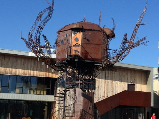 The Steampunk Tree House at Dogfish Head Brewery in Milton.