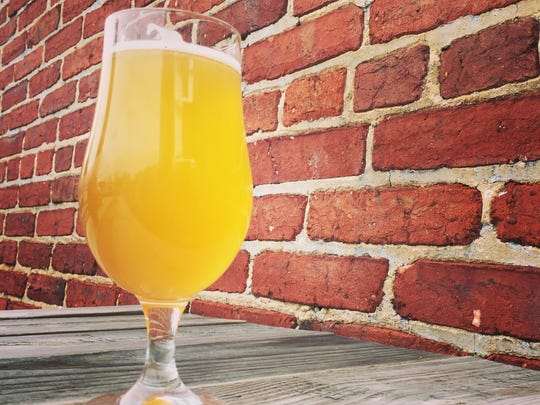 """An American Adjunct IPA from Collusion Tap Works in York called """"Give Corn a Chance."""""""