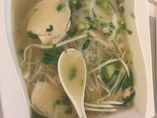 Chicken pho is a lighter option to the traditional