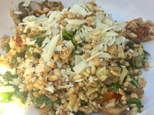 The Tandem, 1848 W. Fond du Lac Ave., is known for fried chicken and burgers, but it makes top-notch salads, too, like this hearty, flavorful mix of farro, mushrooms, pine nuts and greens.