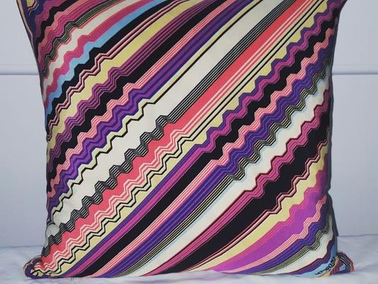 b407e3986 One of the decorative pillows designed by Kari Hershey. (Photo  COURTESY OF  KARI HERSEY KARI ELIZABETH)