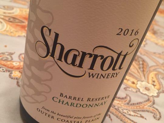 Sharrott's 2016 Barrel Reserve Chardonnay was among