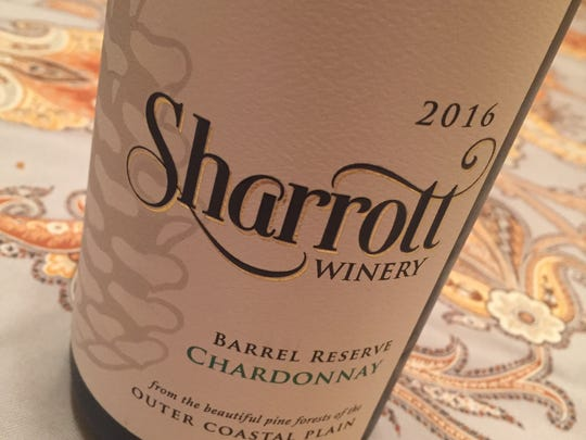 Sharrott's 2016 Barrel Reserve Chardonnay was among the Jersey wines sampled by experts on WineStudio.