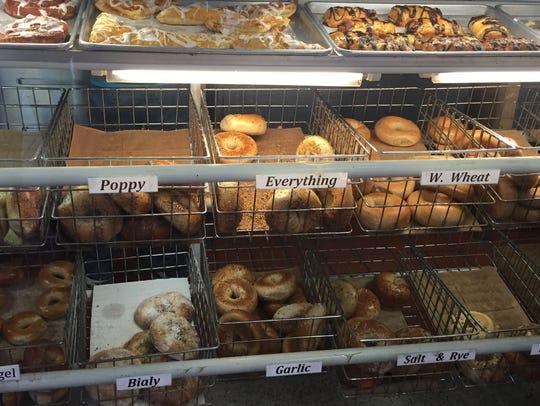 Marty's Bagels in Orangeburg.
