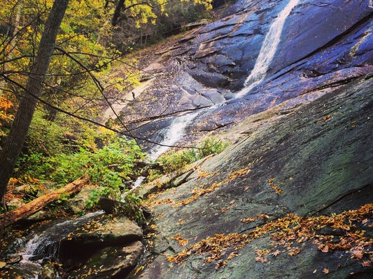 Little Bearwallow Falls is one of the highlights along
